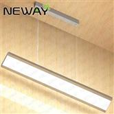 droplight linear 36w 4ft office led pendent light