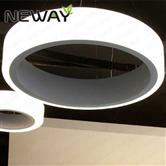1.2M 1.5M LED Ring Light Arcylic Circle LED Pendant Suspension Light
