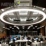 Circle shape led large size chandelier 36m 3m 24m 2m 12m 09m view enlarge image aloadofball Image collections