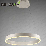 Modern acrylic chandelier hanging light 400mm 600mm 800mm led ...