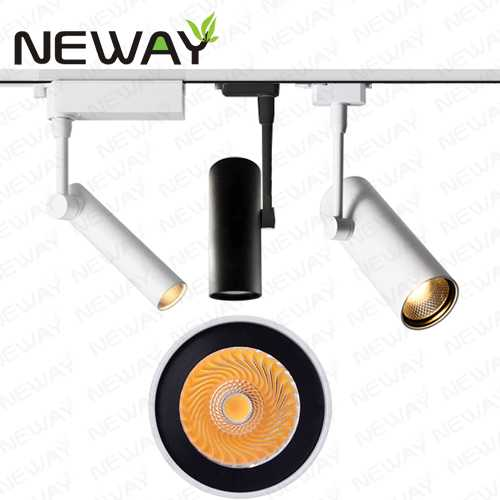 8w 12w 20w 30w led track lighting heads led spotlight track light view enlarge image mozeypictures Gallery