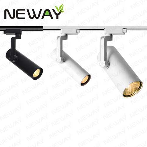 12w 20w 30w led track light head white spotlight track light fixture view enlarge image aloadofball