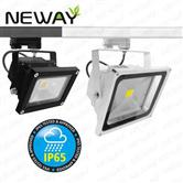 10W 30W 50W IP65 LED Track Lighting Flood Head LED Track Light Bulbs