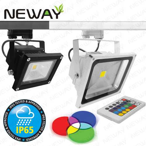10w 30w 50w ip65 rgb track lighting led flood spot light bulbsled view enlarge image aloadofball Image collections