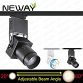 30W 20-60 Degree Beam Angle Adjustable LED track light