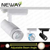 20W LED Track Focus Spotlight 20-60 Degree Beam Angle Adjustable