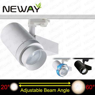 40w 20 60 degree beam angle adjustable led track lightingindoor view enlarge image aloadofball Choice Image