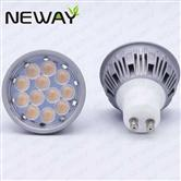 5W Hotel LED GU10 Spot Lamp Triac Dimmable External Driver