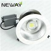 150W180W200W Cooling Fins LED Downlight Recessed Cans 8 Inch 10 Inches