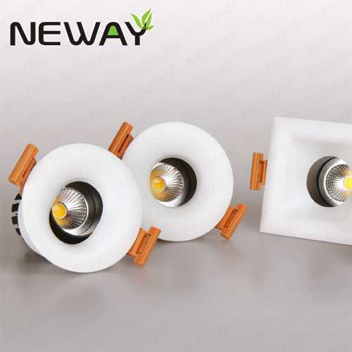8w 12w square and round led recessed ceiling lights recessed