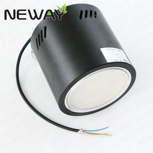 Ip44 50w 120w Surface Led Downlights Led Surface Mount Downlights Surface Mount Led Downlight Modules New Led Surface Mounted Downlights Led Ceiling And Wall Flush Surface Mount Fixture Manufacturer Supplier Factory Neway Lighting Int L Co Ltd