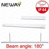 IP44 LED Linear Tube lights 10W-80W 900mm 1200mm 1500mm