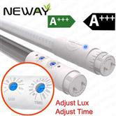 Microwave Sensor T8 Tube Light 18W 1200mm Underground Car Parking Lots