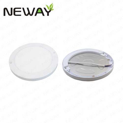 18w 220mm Ultra Thin Round Led Panel Light Magnet Ceiling